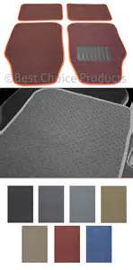 Floor Mats For Trucks Without Carpet Floor Mats 4 Maroon Carpet Car Suv Truck Auto Floor