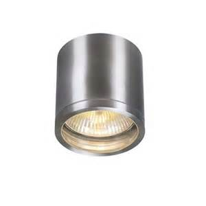 Patio Ceiling Lights Rox Outdoor Downlight Wall Sconce By Slv Lighting 3229766u