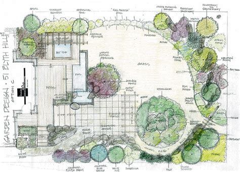 backyard layout plans landscape design install lawn pro