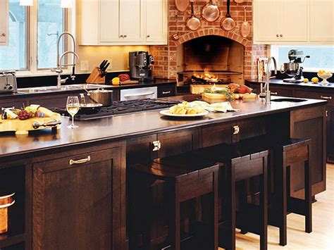 kitchen island with cooktop and seating 10 kitchen islands kitchen ideas design with cabinets islands backsplashes hgtv