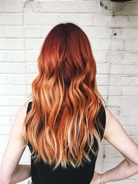 Copper Red Ombre Hair Balayage | best 20 copper balayage ideas on pinterest balayage