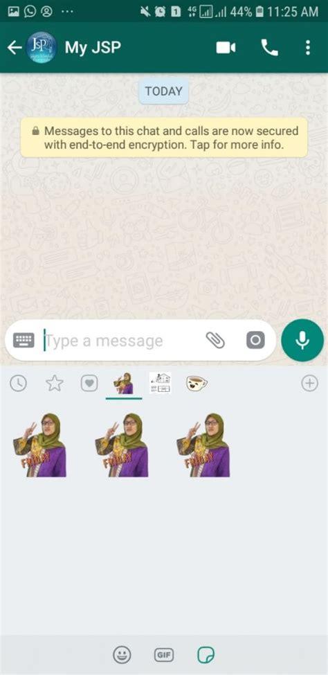 tutorial buat stiker  whatsapp pakai foto sendiri suka