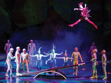 best cirque du soleil in las vegas best las vegas shows for and family family vacation hub
