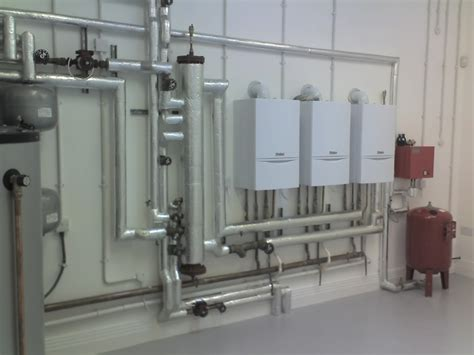 plant room martin owden plumbing and heating