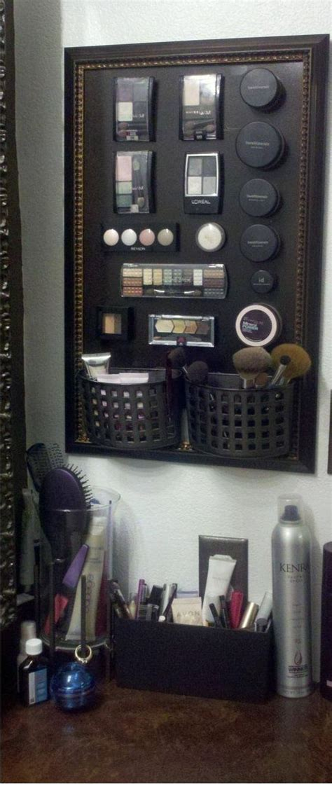 magnet and southern bathrooms bathroom organization tips magnetic makeup board