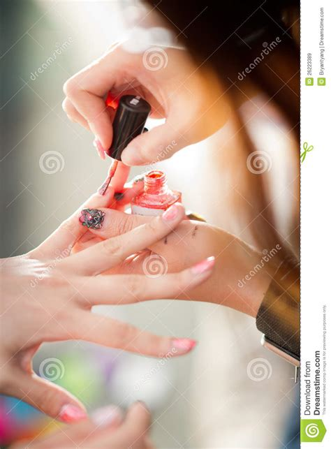 nail painting for free nail painting royalty free stock images image 26223389