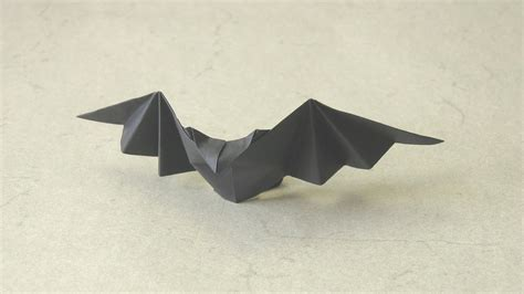 Easy Origami Bats - origami patty bat talo kawasaki