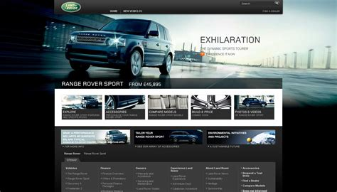 land rover launch new uk website before and after pics