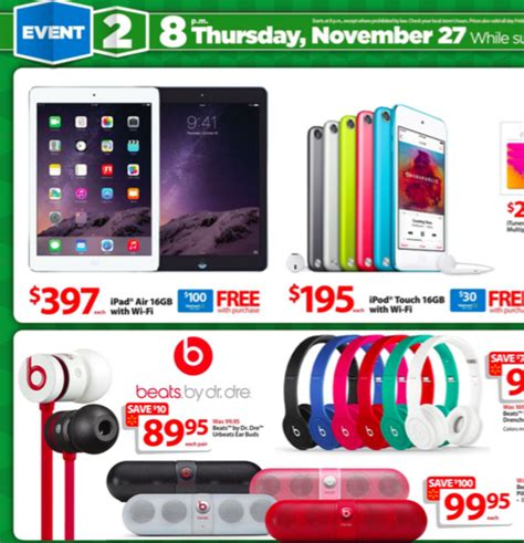 Walmart Iphone Gift Card Black Friday - wal mart black friday 2014 deals iphone 6 with 75 gift card ipad air with 100 gift