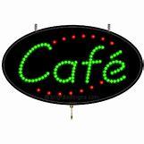 Neon Cafe Sign | 500 x 500 animatedgif 511kB