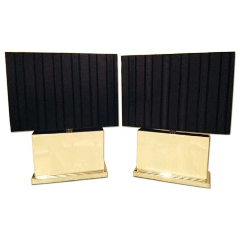 how to match a lshade to a base pair of tahari bedside ls with gold rectangular