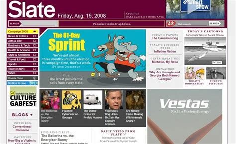 video slate magazine the top 100 classic web sites slide 77 slideshow from