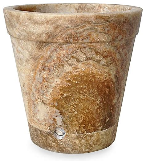 Large Indoor Planters Pots by Onyx Flower Pot With Base Large Transitional Indoor Pots And Planters By Bliss Home And