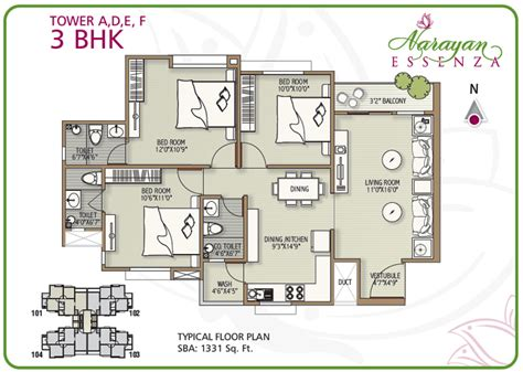 3bhk house design plans narayan essenza house plan 2 3 bhk apartments in vadodara