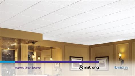 armstrong 266 ceiling tile brighton homestyle ceilings textured paintable 2 x 2