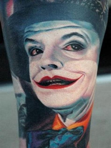 joker getting tattoo get different tattoos designs with cool joker tattoos