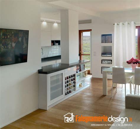 divisorio cucina soggiorno cucine su misura 89 idee in vero legno falegnamerie design
