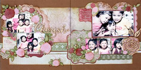 double layout scrapbook pages lg s scrapbook world my 2nd double page layout