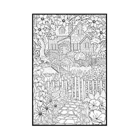 detailed animal coloring pages adult coloring page for