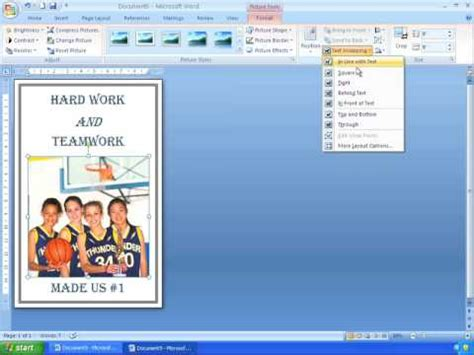 design banner using microsoft word make a poster using microsoft word simple poster