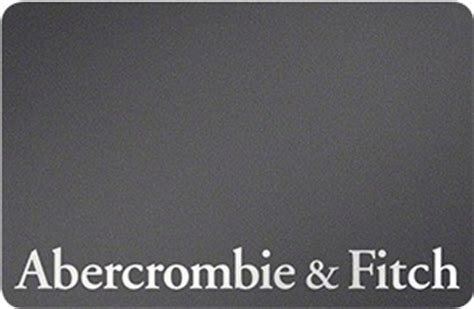 Abercrombie Fitch Gift Card - abercrombie fitch gift cards review buy discounted promotional offers gift