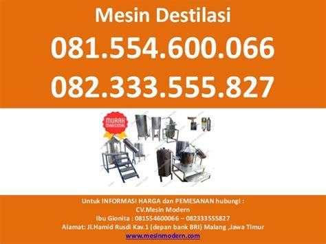Mesin Uap Untuk Asma 081 554 600 066 082 333 555 827 mesin destilasi uap