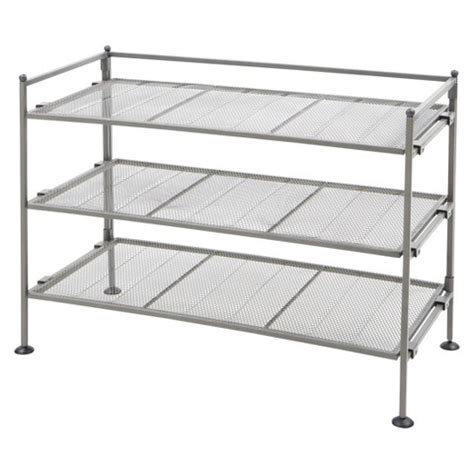 other uses for metal shoe rack seville classics 3 tier mesh utility shoe rack target
