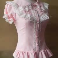 lace short sleeve chiffon blouse top free ship sp141085