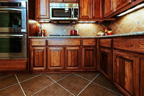 How To Stain A Kitchen Cabinet How To Stain Kitchen Cabinets Without Sanding