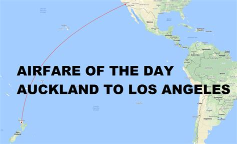 airfare of the day american airlines auckland to los angeles economy class 365 one way