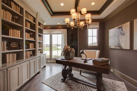 newmark homes study villa rotunda traditional home
