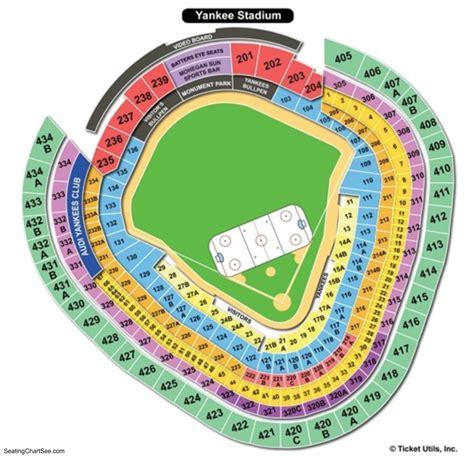 yankee stadium seating diagram yankee stadium seating chart seating charts and tickets
