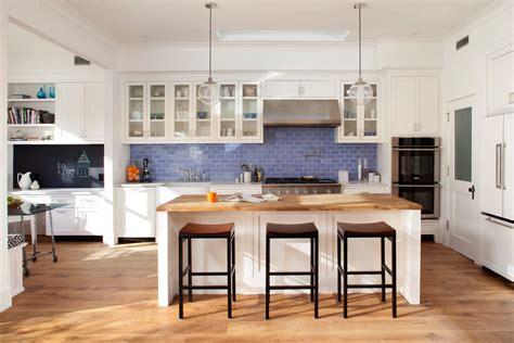 blue tile backsplash kitchen spruce up your home with color blue tiles for the kitchen and bathroom