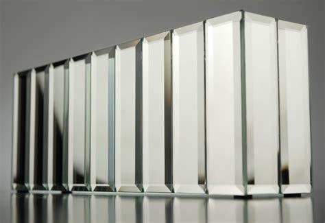 Mirror Vases by Mirrored Panel Vase Dazzle Collection 10 75 X 2 25 X 4