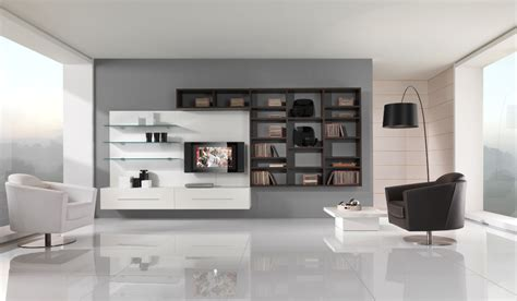 Black And White Modern Living Room Furniture Modern Black And White Furniture For Living Room From Giessegi Digsdigs