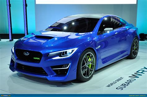 subaru cars models ausmotive com 187 new york 2013 subaru wrx concept