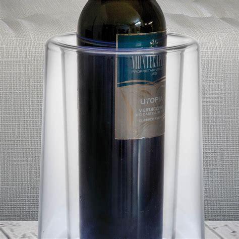 tavola water portabottiglie da tavola led like water 19xh24 cm in