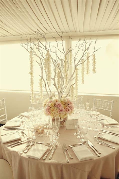 Best 25  White branch centerpiece ideas on Pinterest
