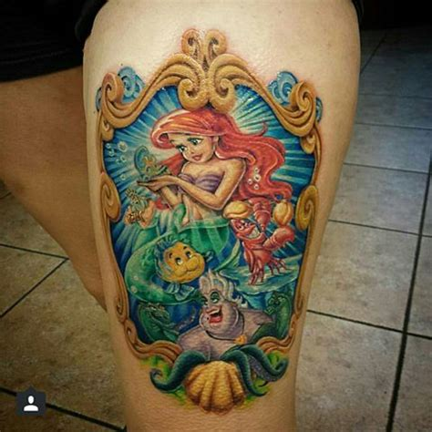 little mermaid tattoos 68 best mermaid tattoos ideas