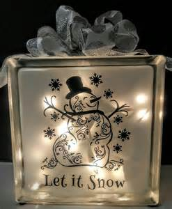 glass block crafts 25 best ideas about lighted glass blocks on