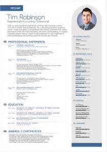 Resume Professional Format by Free Simple Professional Resume Template In Ai Format