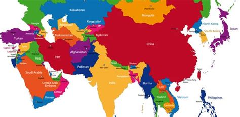 asia map with country names quiz central asia capitals flashcards by proprofs