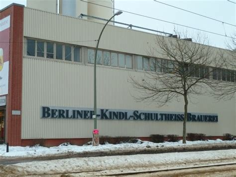 Schultheiss Brauerei Berlin by Berliner Kindl Schultheiss Brauerei Bierwelt Org
