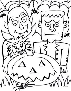 free pdf halloween coloring page welcome to jelene com