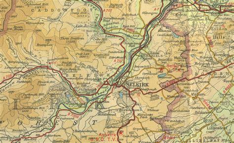 selkirk map