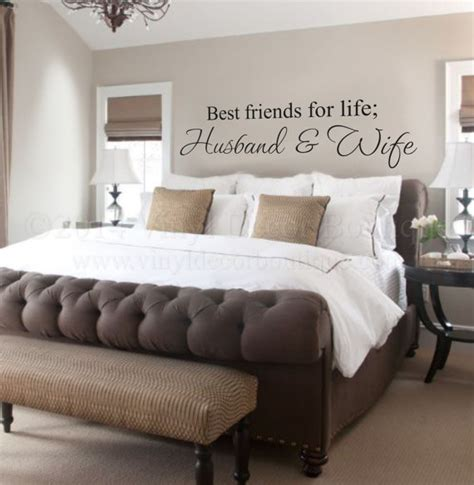 photos of husband and wife in bedroom husband and wife best friends for life wall art wall deca