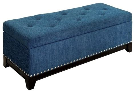 teal storage bench furniture of america furniture of america randi tufted
