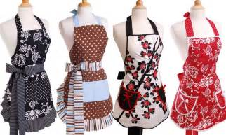 Kitchen Apron Designs Handmade Aprons Decorlinen