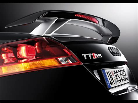 Audi Tt Rs Spoiler by 2009 Audi Tt Rs Roadster Rear Spoiler 1280x960 Wallpaper