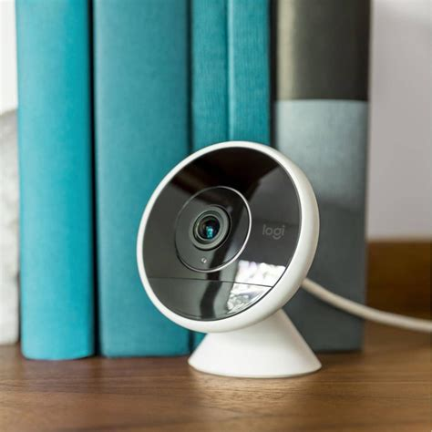 logitechs  circle  security camera stores footage